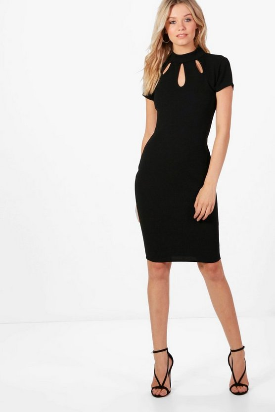 Kerry Keyhole Midi Dress
