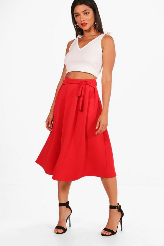 Tie Top and Skirt Co-Ord Set