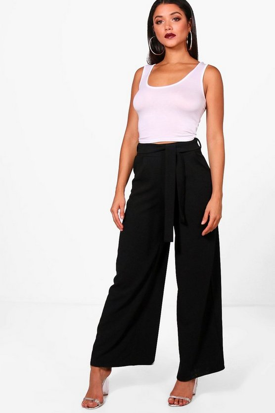 Mimi Tie Waist Trouser and vest Co-ord Set