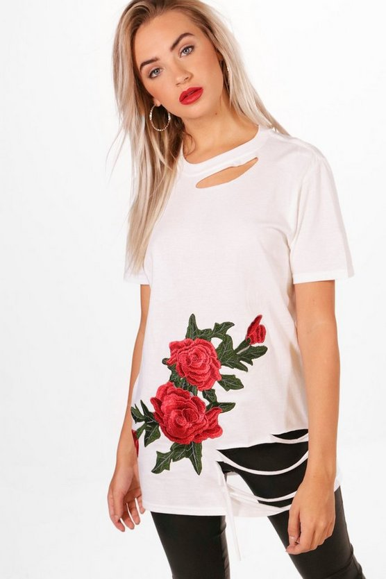 Louise Embroidered T-Shirt