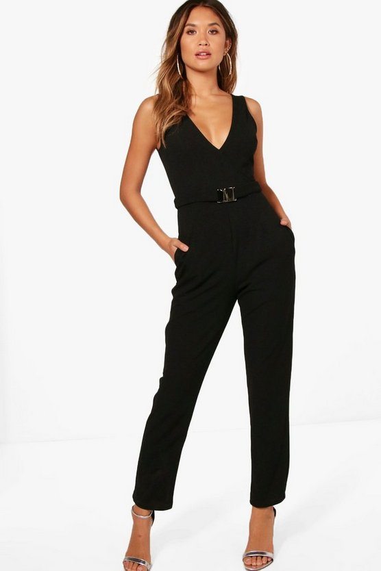 Buckle Detail Jumpsuit