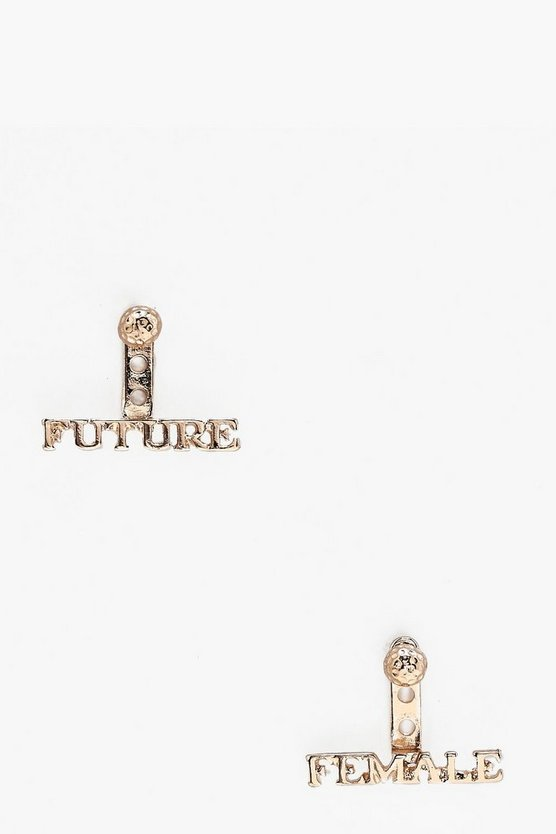 Lola Future Female Stud Earrings