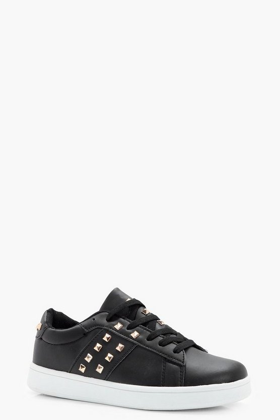 Emily Stud Lace Up Trainer