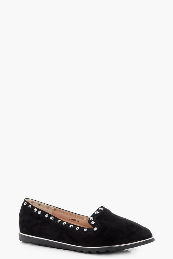 Hannah Studded Slipper Ballets