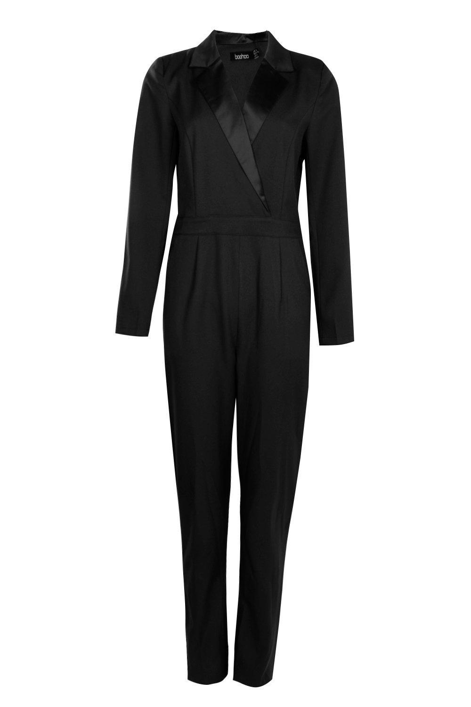 Tailored black Tux Tux Jumpsuit Tailored black Jumpsuit Tailored UrU07