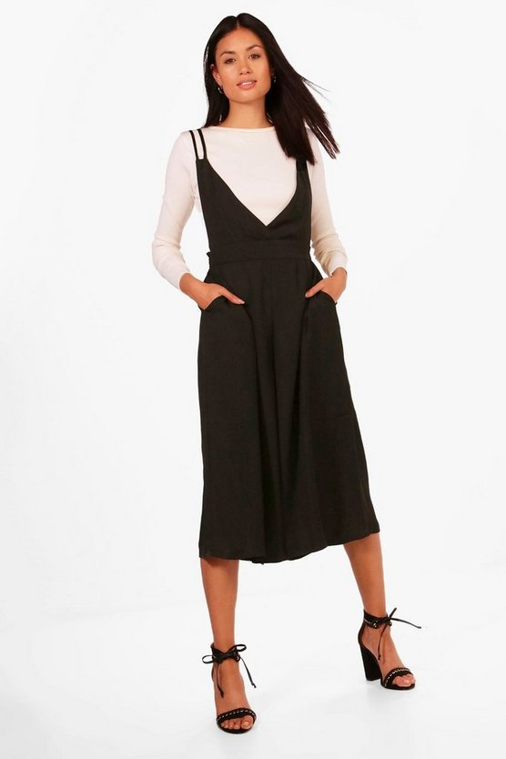 Molly Pinafore Culotte Jumpsuit