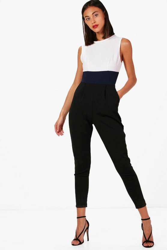 Camilla Colour Block Jumpsuit