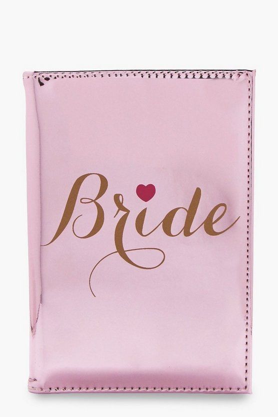 Bride Passport Case
