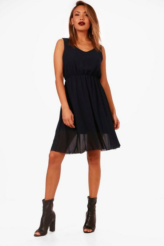 Laura Woven Skater Dress