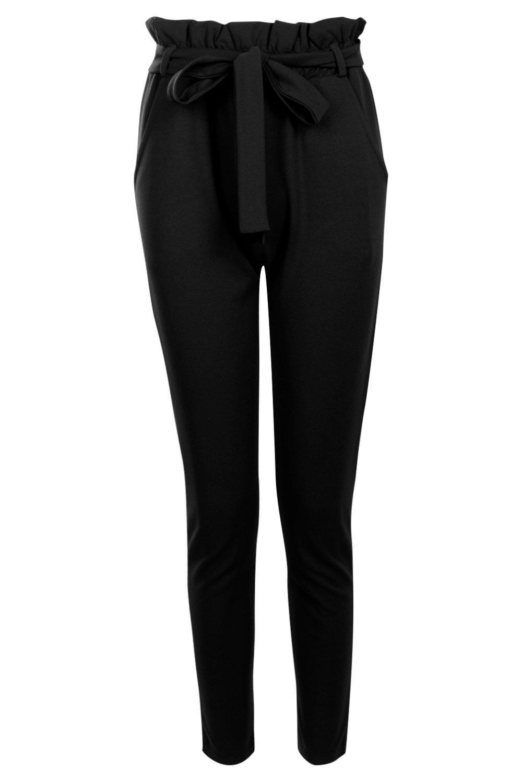 Tie Waist black Waist Trouser Tie Trouser Tie black Waist Trouser black t8RnOq6