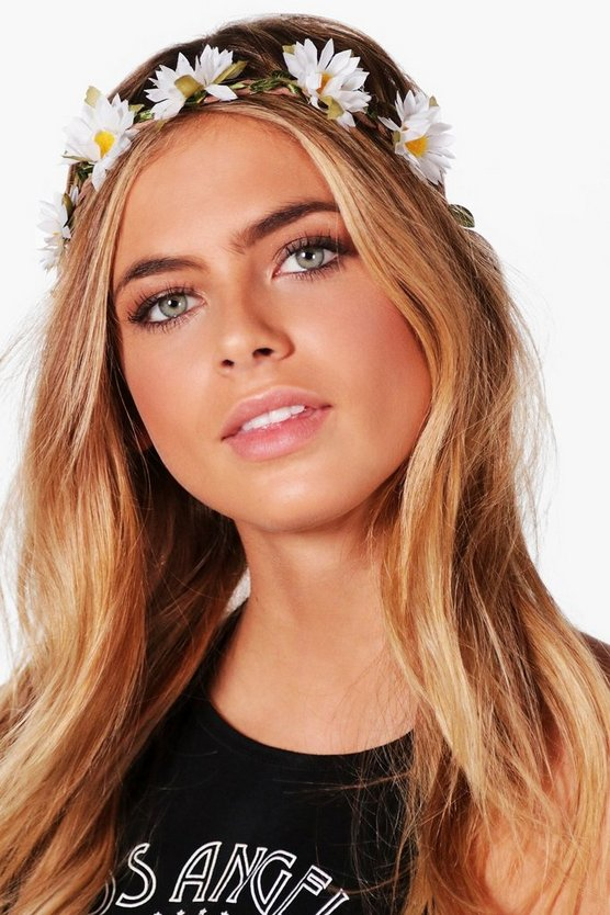 Lexi Daisy Floral Hair Crown