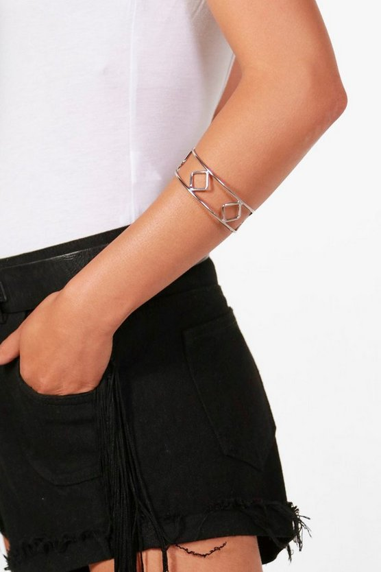 Diamond Detail Arm Cuff
