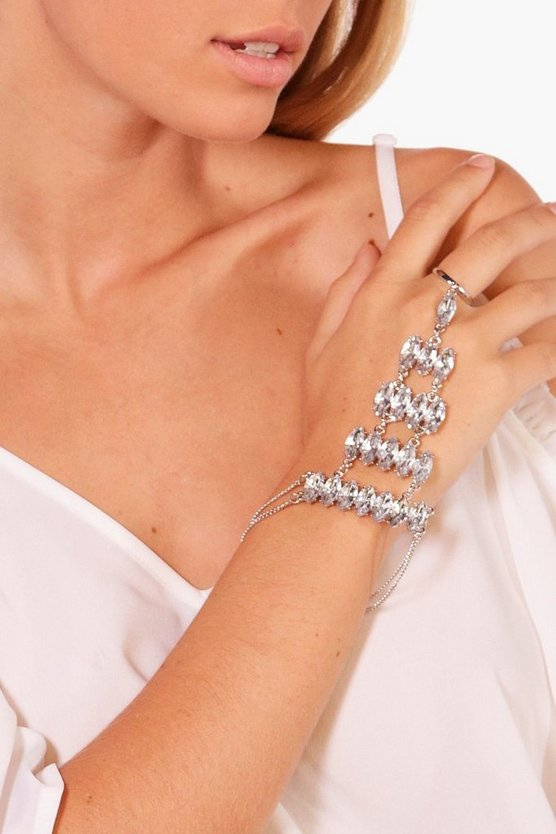 Jane Statement Diamante Hand Harness