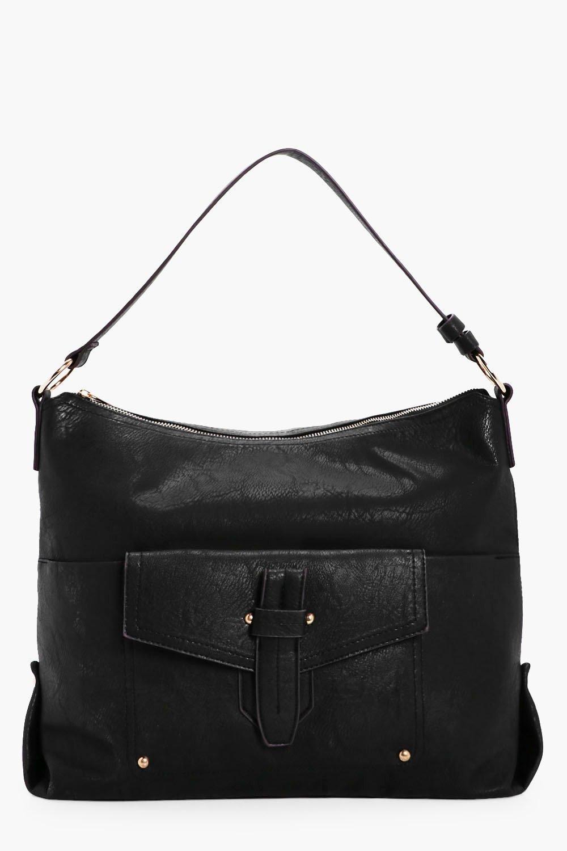 Molly Fold Over Detail Bucket Bag