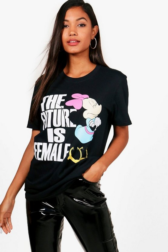 Samantha Disney The Future Is Female Minnie Tee