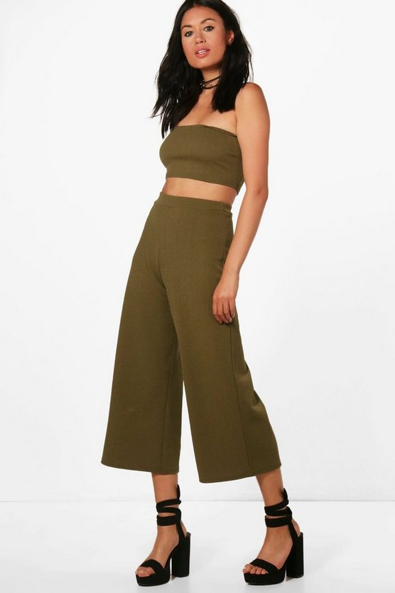 Cari Bandeau & Culotte Co-ord Set