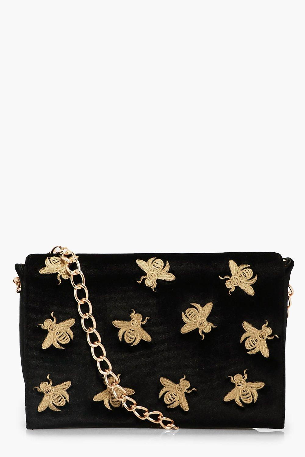 c5c339cc48bb Bug Embroidery Cross Body Bag. Hover to zoom