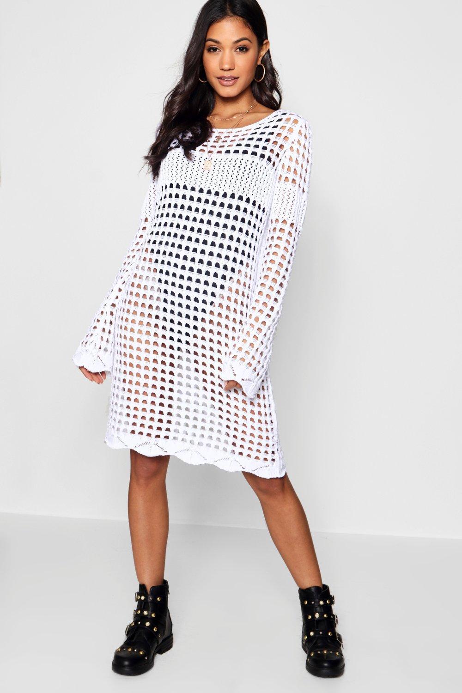 Bell Dress Bell Crochet Dress Crochet Sleeve Sleeve Bell Crochet Sleeve RwXxa