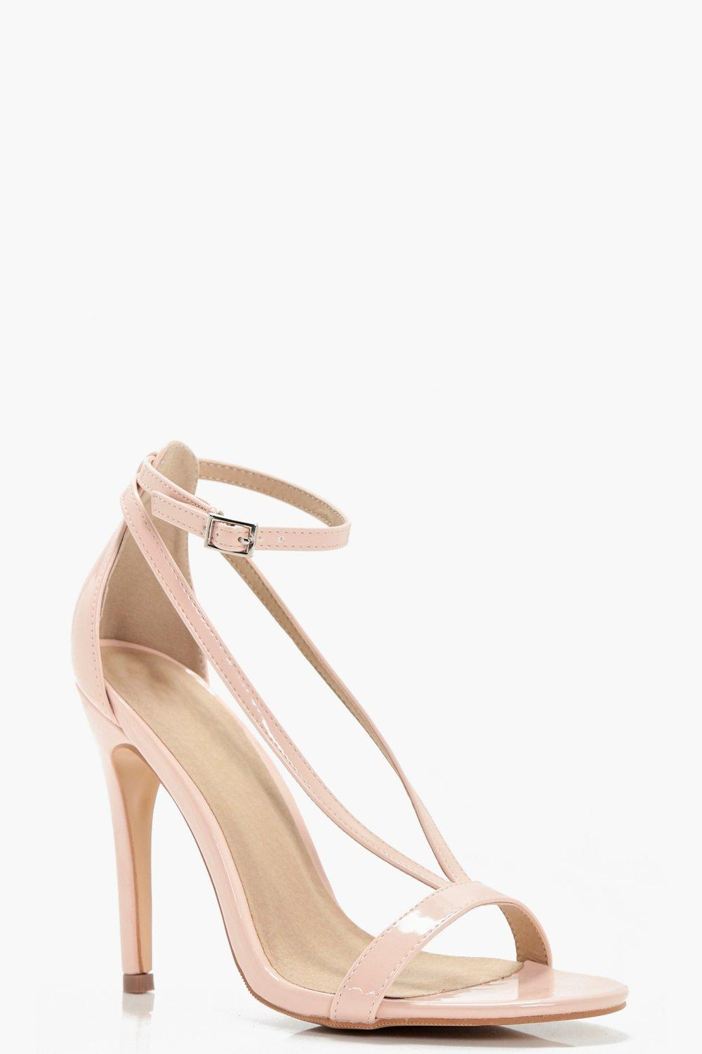 df71d4a0963ae Eloise Cross Strap Skinny Heels. Hover to zoom