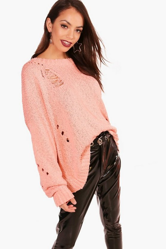 Elizabeth Distressed Jumper
