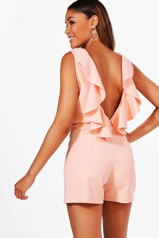 Melody Ruffle Back Playsuit