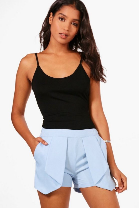Sonia Pleat Front Shorts