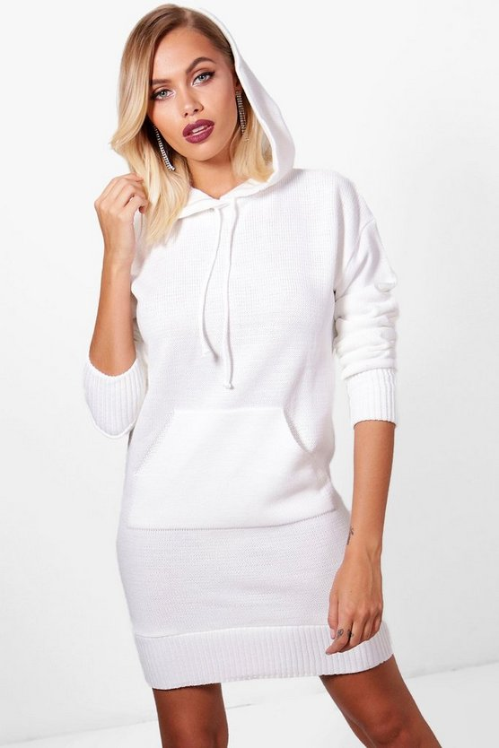 Hooded Jumper Dress