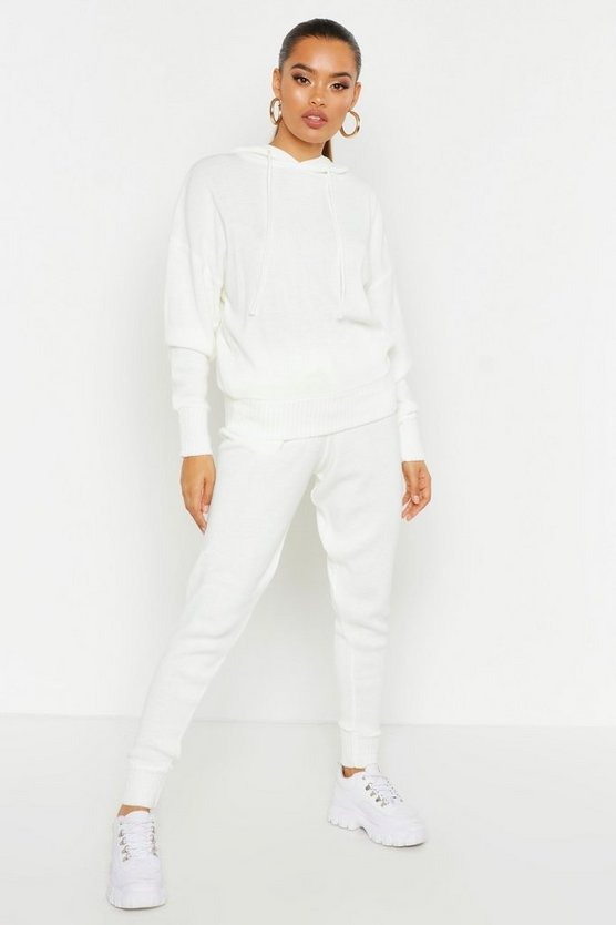 Hooded Knitted Lounge Set