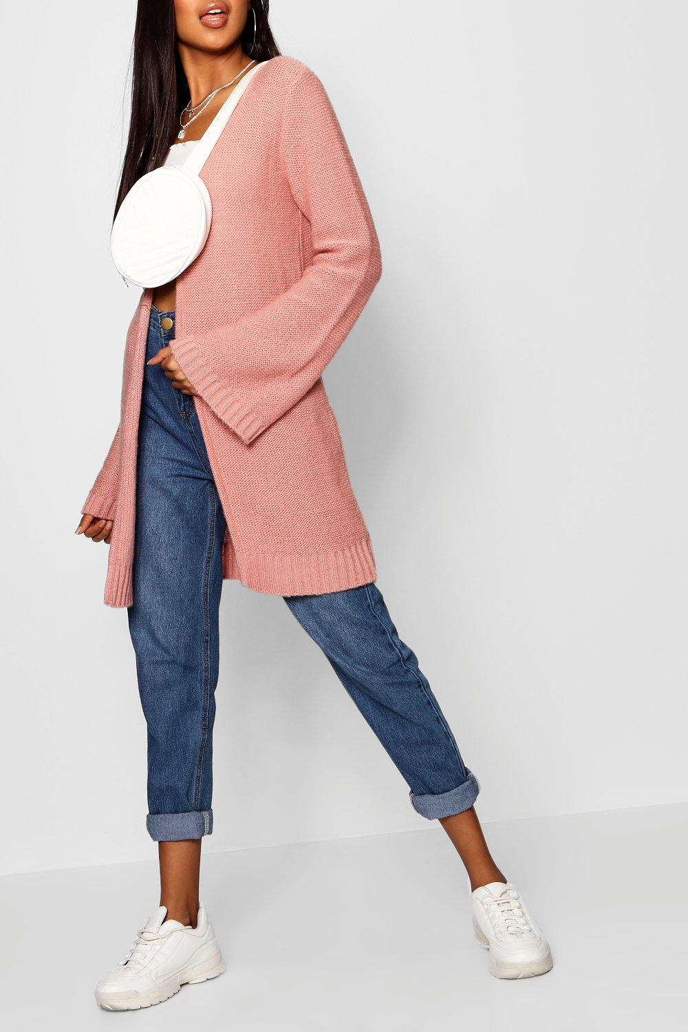 blush Sleeve Wide Wide Cardigan Sleeve fqw8gn55P