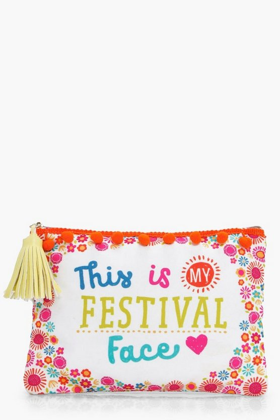 Festival Face Make Up Bag