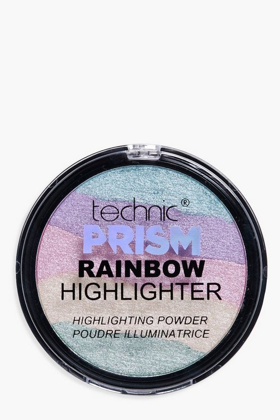 Womens Multi Technic Prism Rainbow Powder