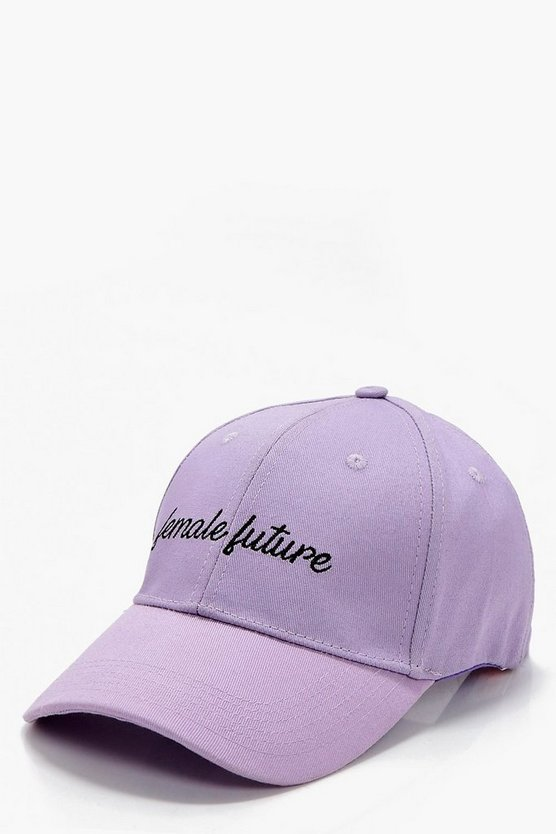 Millie Female Future Slogan Cap