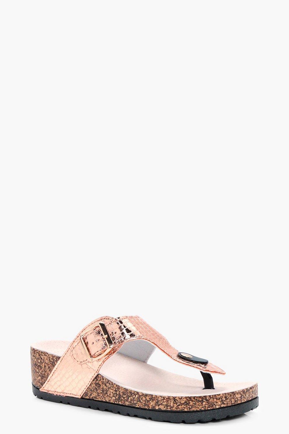 7994785b12a045 Demi Thong Footbed Sandal