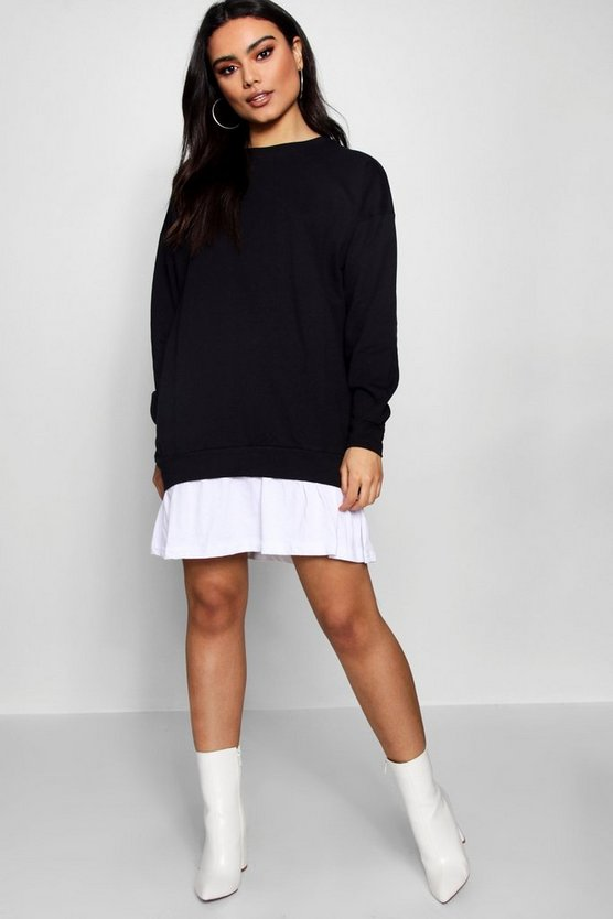 2 in1  Sweater Dress