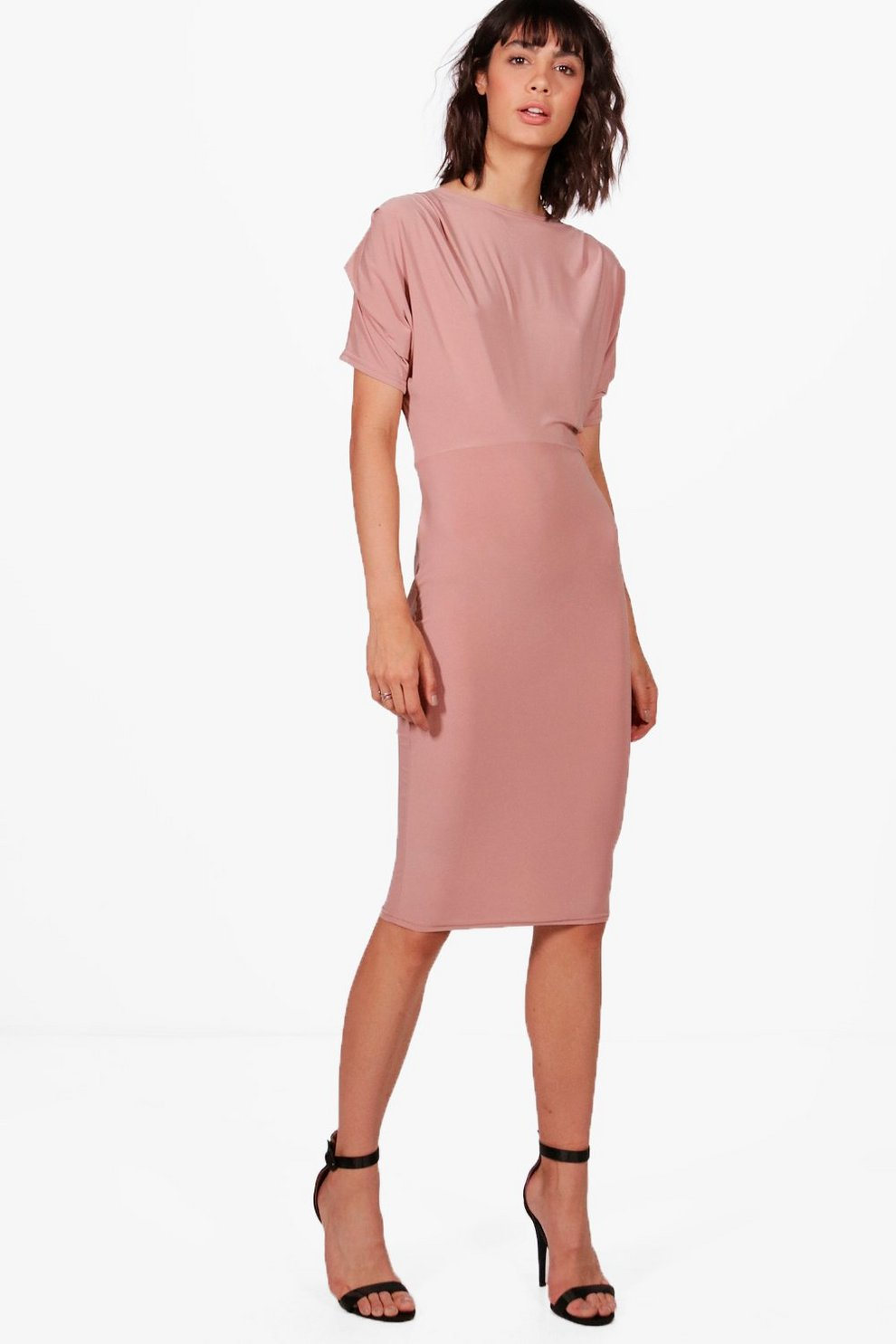 eca9d61d98d0 Slinky Midi Dress | Boohoo