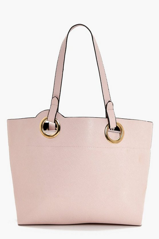 Jess Ring Handle Detail Day Bag