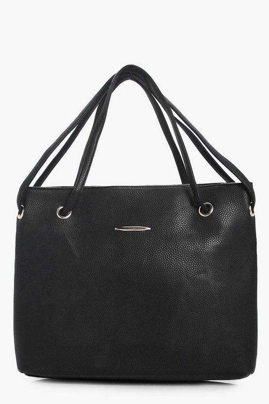 Kirsten Basic Eyelet And Straps Day Bag