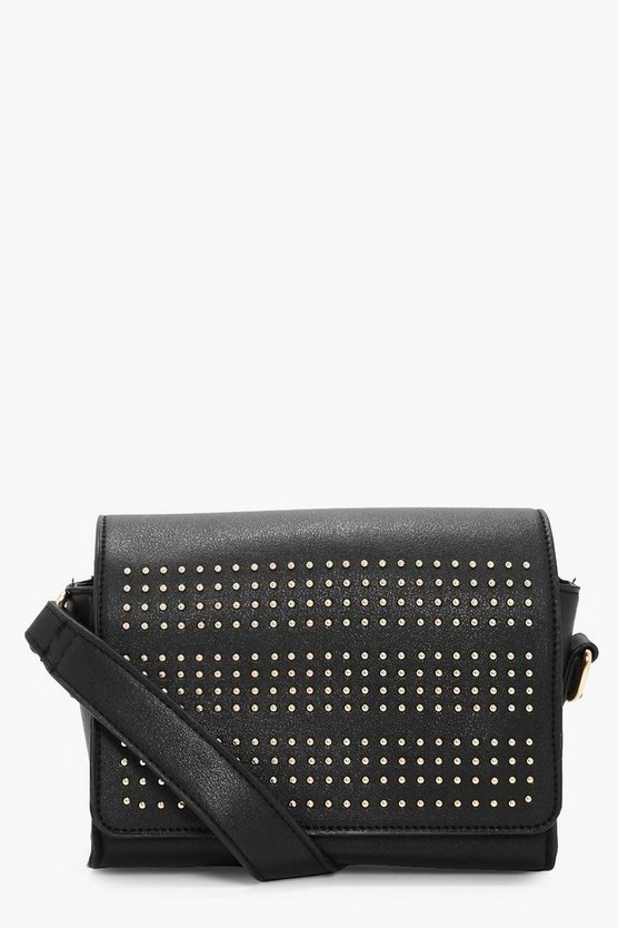 Kirsten Pin Stud Box Cross Body Bag
