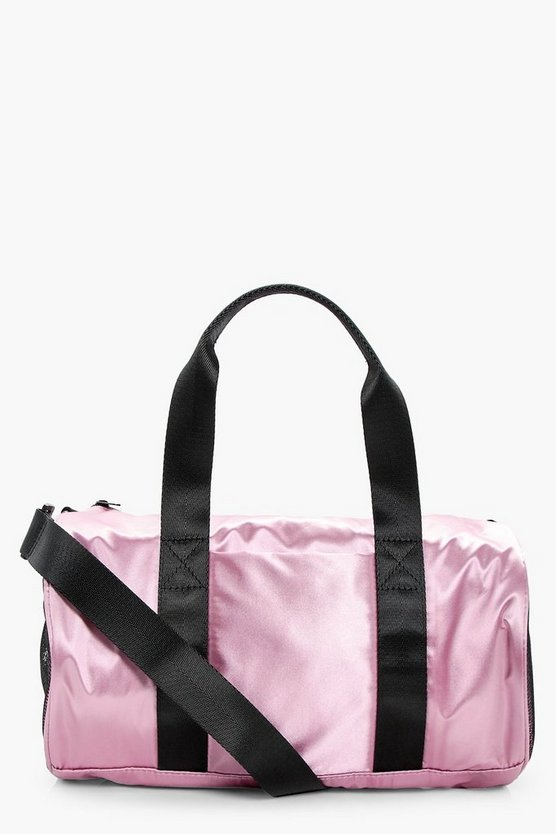 Laura Satin Gym Holdall