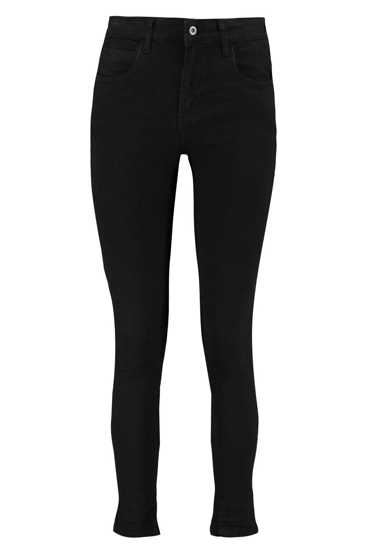 Jeans Pocket Rise High black Skinny 5 qUpwwxR