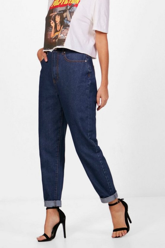 Authentic Rigid Slim Fit Mom Jeans