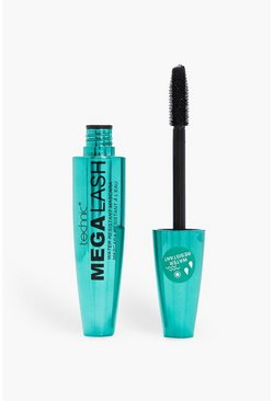 Womens Black Technic Mega Lash Waterproof Mascara