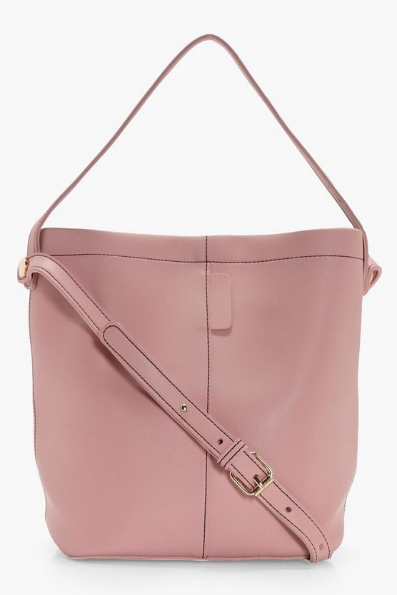 Lottie Structured Bucket Bag