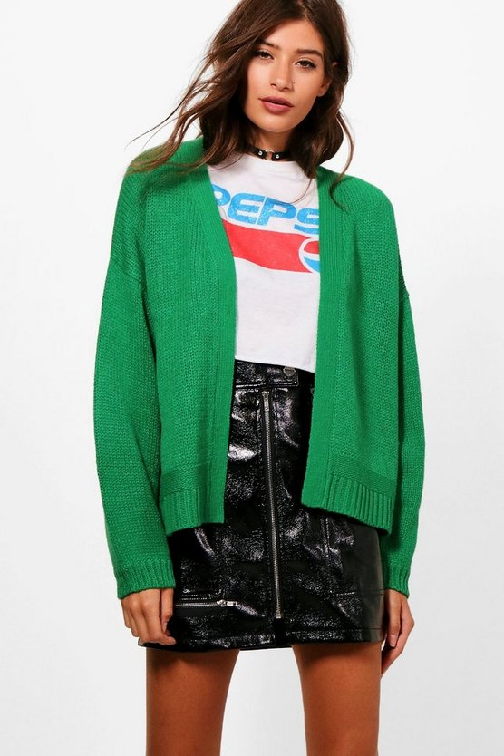 Maya Oversized Balloon Sleeve Cardigan