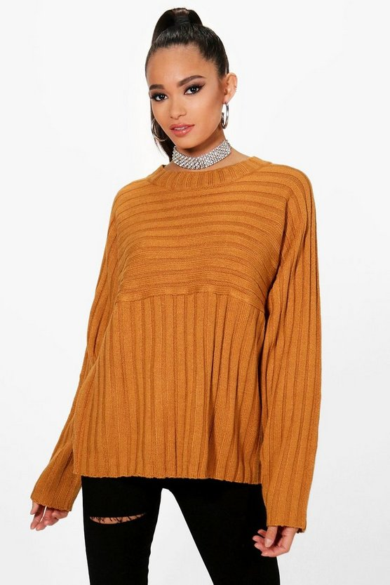 Rib Detail Jumper