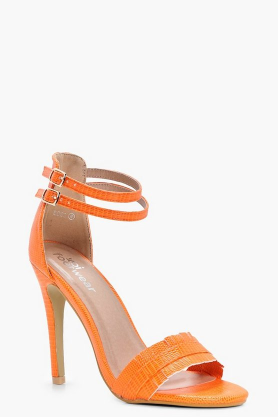 Charlotte Double Band Barely There Heels