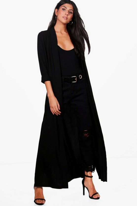 Hollie Maxi Side Split Woven Duster