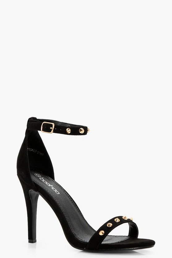 Stud Trim 2 Part Heels
