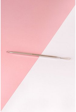 Womens Silver Brushworks Black Head Remover Tool