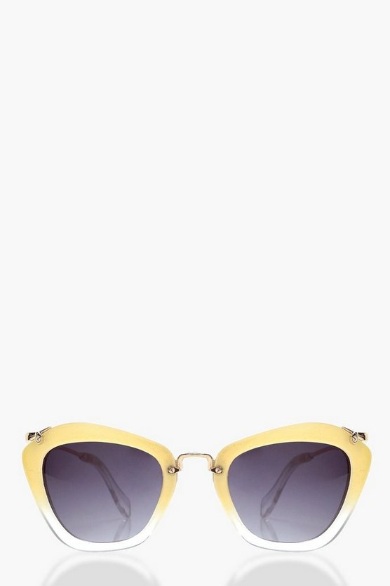 Sophia Retro Thick Frame Sunglasses